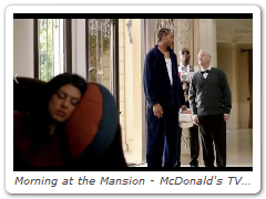 Morning at the Mansion - McDonald's TV Commercial